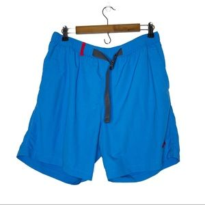 North Face | Blue Lined Swim Trunks